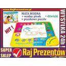 Muzyczna MATA WODNA + pisak + dźwięki + gratis piankowe puzzle